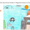Charter Day School Student Wins Second Place in County Art Contest!